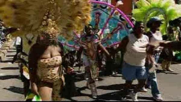 The West Indian Day Parade marched down Brooklyn's Eastern Parkway in one of New York City's largest and most colorful spectacles.