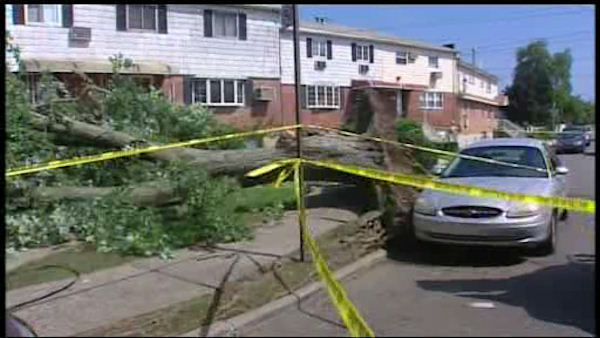 Tornado touches down in Canarsie, Brooklyn