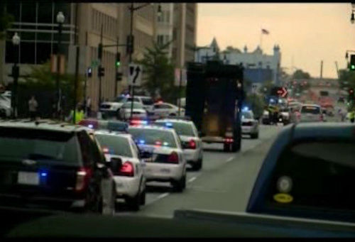 "<div class=""meta ""><span class=""caption-text "">Photos from the scene of a shooting at the Washington Navy Yard in Southeast Washington D.C. on Monday, September 16. </span></div>"