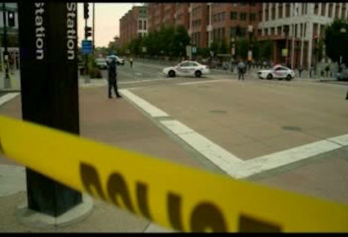 "<div class=""meta image-caption""><div class=""origin-logo origin-image ""><span></span></div><span class=""caption-text"">Photos from the scene of a shooting at the Washington Navy Yard in Southeast Washington D.C. on Monday, September 16. </span></div>"