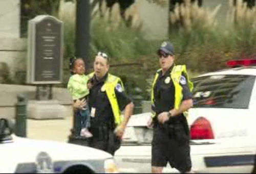 Photos from Capitol Hill following reports of shots fired near the Capitol.