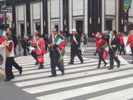 The 68th annual Columbus Day Parade was held Monday October, 8 2012 and was viewed on Channel 7 and 7online.