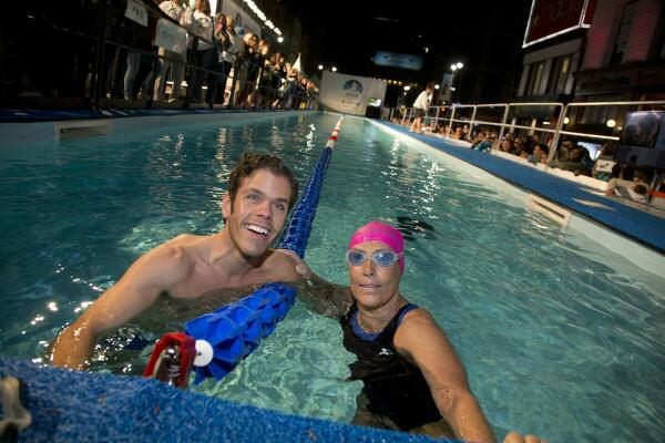 "<div class=""meta ""><span class=""caption-text "">Photos from Diana Nyad's 48-hour swim in a 40-yard pool set up in Herald Square. Her aim is to raise money for people still struggling a year after Sandy.  More info:  http://www.crowdrise.com/SwimForRelief</span></div>"