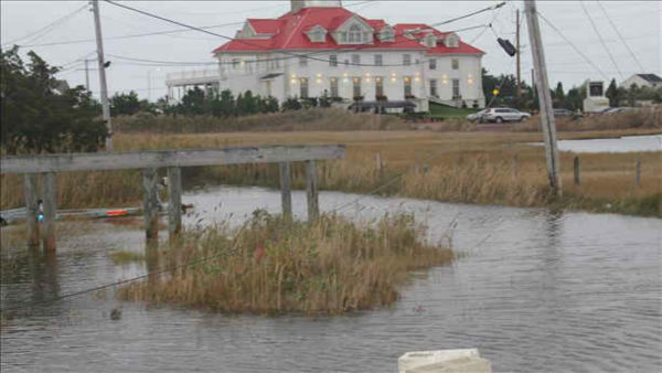 Eyewitness News viewers send in photos of Hurricane Sandy all along the East Coast.