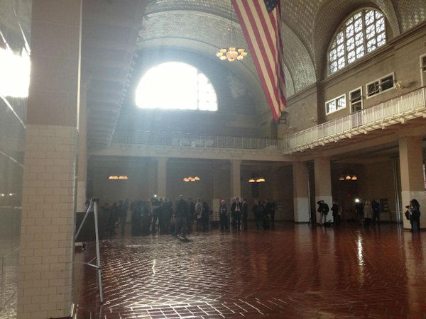 "<div class=""meta ""><span class=""caption-text "">Photos from Ellis Island reopening on October 28, 2013.    The island had been closed to visitors since Superstorm Sandy. (WABC Photo/ Michelle Charlesworth)</span></div>"