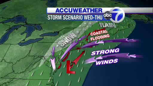 "<div class=""meta image-caption""><div class=""origin-logo origin-image ""><span></span></div><span class=""caption-text"">See AccuWeather maps of the Nor'easter expected to hit the New York area on Wednesday.</span></div>"
