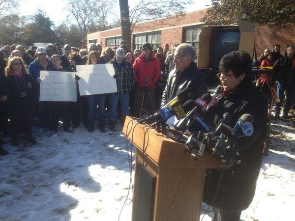 "<div class=""meta ""><span class=""caption-text "">Angry residents gathered in Oceanside, Long Island on Friday, Nov. 9, 2012 to protest the LIPA response to Hurricane Sandy.  (Josh Einiger/WABC)</span></div>"
