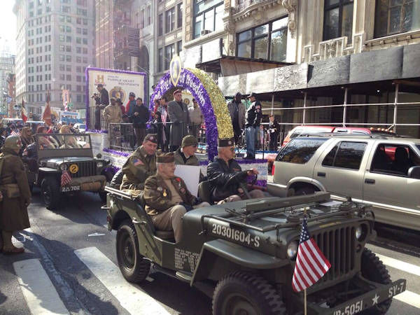 Photos from the Veterans Day Parade in New York City on November 11, 2013  <span class=meta>(WABC Photo&#47; Tim Fleischer)</span>