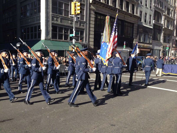 Photos from the Veterans Day Parade in New York City on November 11, 2013  <span class=meta>(Tim Fleischer)</span>
