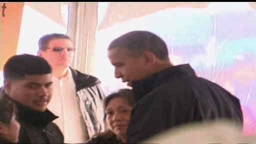 President Obama toured Long Island and Staten Island after Hurricane Sandy.  The President met with survivors of the storm.