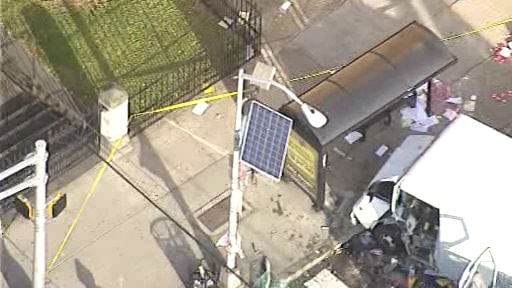 "<div class=""meta ""><span class=""caption-text "">NewsCopter 7 over the scene of an accident at S Orange Ave. and S 9th St. in Newark, New Jersey on Monday, November 19, 2012.</span></div>"