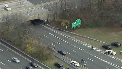 A Nassau County Police officer from the 7th precinct was critically injured in an accident while pursuing a suspect near North Broadway and Eastbound Southern State Pkwy at Route 110 in Massapequa.