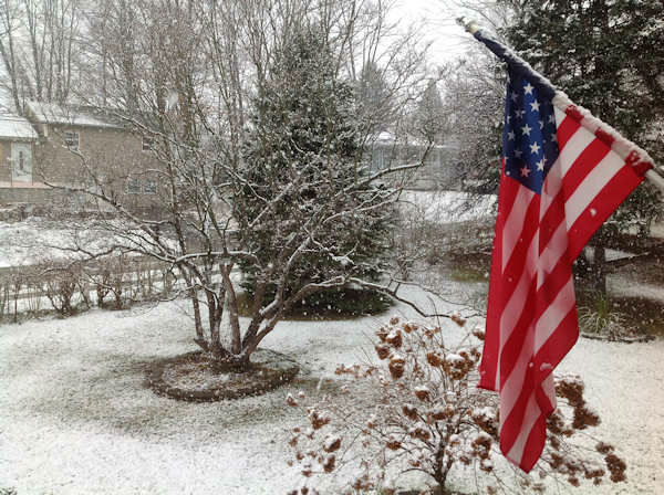 Fishkill, New York on November 27, 2012 from an Eyewitness News viewer.
