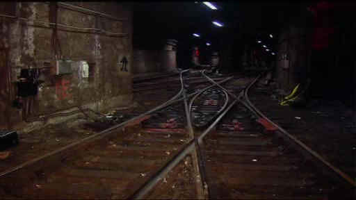 The Hoboken PATH station remains closed weeks after Hurricane Sandy.  The media was given a tour to see the workers cleaning the tracks, some of which still contain water.