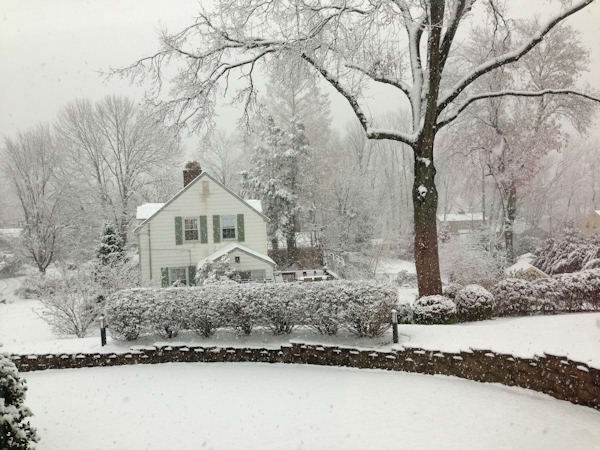 Springfield, New Jersey on November 27, 2012 from an Eyewitness News viewer.