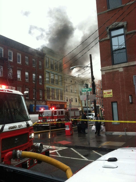"<div class=""meta ""><span class=""caption-text "">Photos from the scene of a multi-alarm fire in Jersey City, New Jersey on Wednesday, November 27, 2013. (Dell Alann)</span></div>"