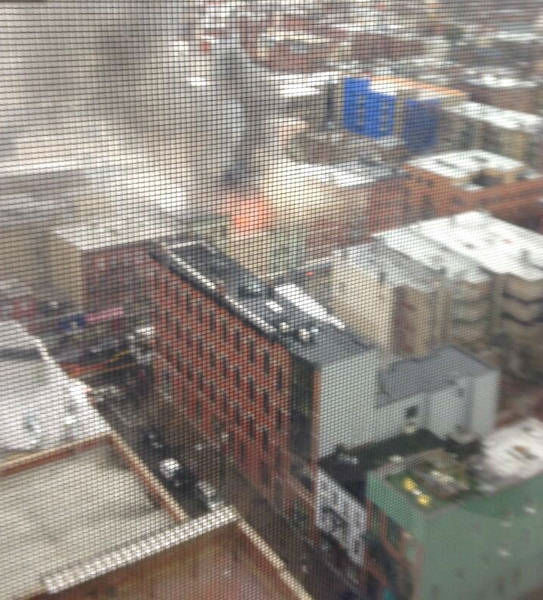 Photos from the scene of a multi-alarm fire in Jersey City, New Jersey on Wednesday, November 27, 2013. <span class=meta>(Laurie Cobb)</span>