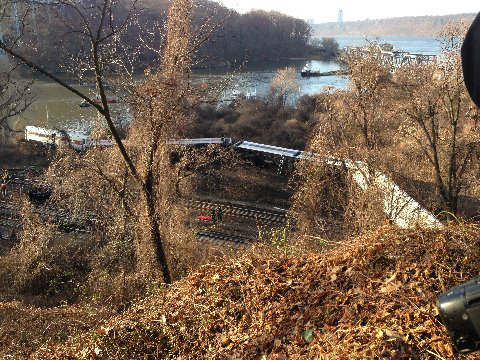 "<div class=""meta ""><span class=""caption-text "">Photos from the scene of the Metro North derailment on Sunday, December 1, 2013 (WABC Photo/ Joseph John Ramos)</span></div>"