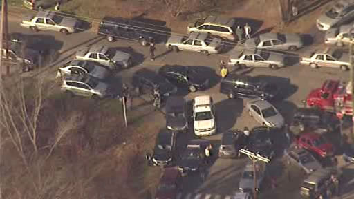"<div class=""meta ""><span class=""caption-text "">Newscopter 7 Scene outside Sandy Hook Elementary in Newtown, Connecticut following reported shooting on Friday, December 14, 2012. </span></div>"