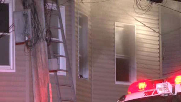"<div class=""meta ""><span class=""caption-text "">A family of four was forced to jump out a second floor window when fire broke out in their Yonkers home early Wednesday morning.</span></div>"