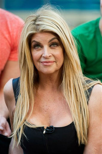 Dancing with the Stars finalist Kirstie Alley appears on Good Morning America in New York, Wednesday, May 25, 2011. (AP Photo/Charles Sykes)