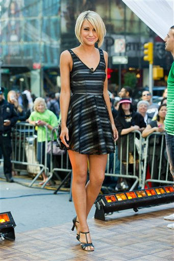 Dancing with the Stars finalist Chelsea Kane appears on Good Morning America in New York, Wednesday, May 25, 2011. (AP Photo/Charles Sykes)