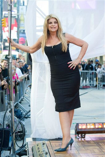 "<div class=""meta ""><span class=""caption-text "">Dancing with the Stars finalist Kirstie Alley appears on Good Morning America in New York, Wednesday, May 25, 2011. (AP Photo/Charles Sykes)</span></div>"