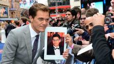 [FILE] Actor Michael Shannon signs autographs fo