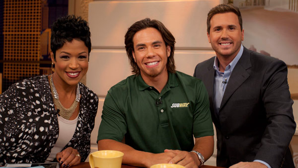 "<div class=""meta image-caption""><div class=""origin-logo origin-image ""><span></span></div><span class=""caption-text"">8-time Olympic medal winner Apolo Anton Ohno at WCL with Val and Ryan. September 9, 2011. (Tyler Furlan)</span></div>"
