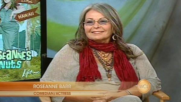 Nuts about Roseanne: Comedian and Actress Roseanne Barr on 'Windy City LIVE'