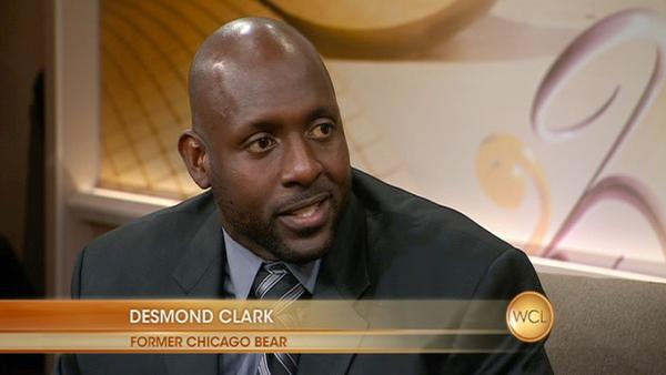Former Chicago Bear Desmond Clark