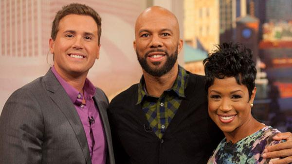 Common, Chicago's own rapper, actor, and author, stopped by WCL! He chatted with Ryan and Val. September 20, 2011.