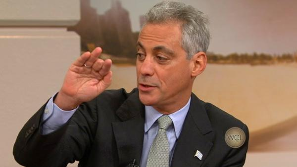 Mayor Rahm Emanuel joins in Host Chat 10-25-11