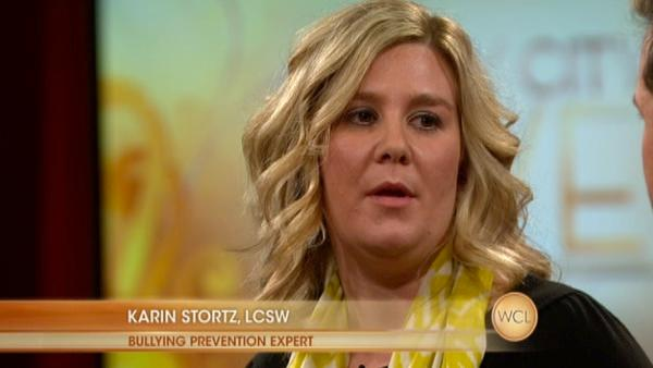Bullying Prevention Expert Karin Stortz