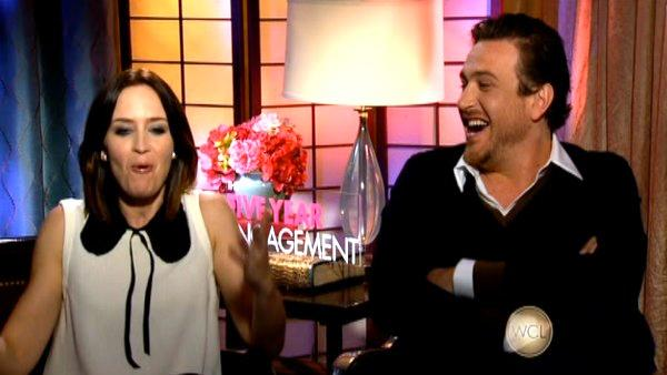 Jason Segel and Emily Blunt on '5 Year Engagement'