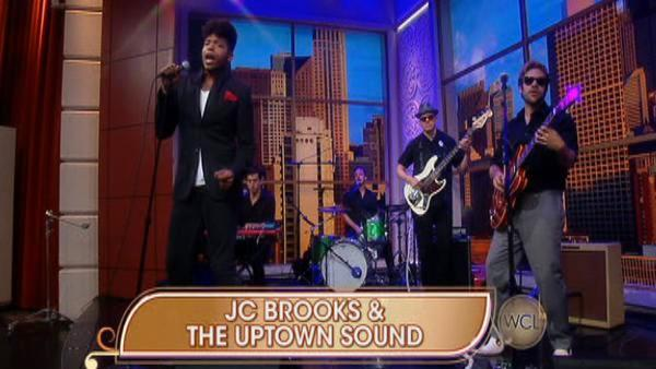 JC Brooks & The Uptown Sound rock the studio