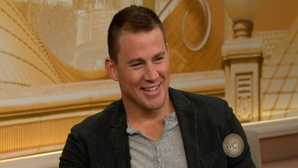 Channing Tatum talks about his new movie