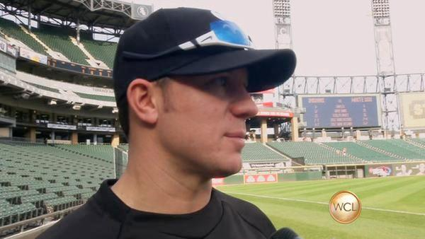Chicago White Sox pitcher Jake Peavy gets the 2 Min. Warning