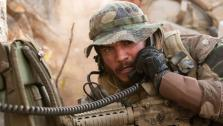 This photo released by Universal Pictures shows Emile Hirsch as Danny Dietz in a scene from the film, Lone Survivor. (AP Photo/Universal Pictures, Gregory R. Peters)