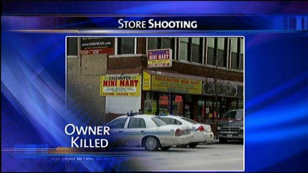 Owner shot dead at Edgewater store