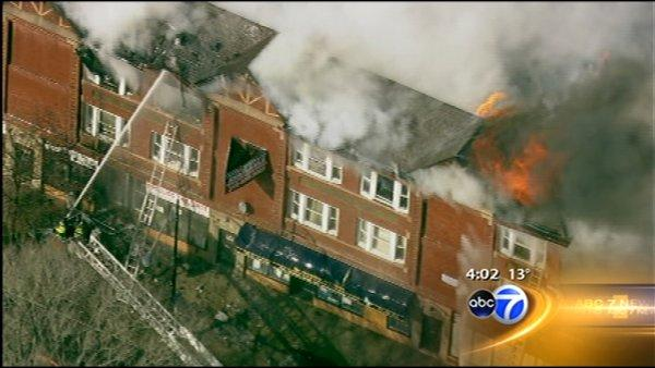 Fire leaves 75 looking for place to stay