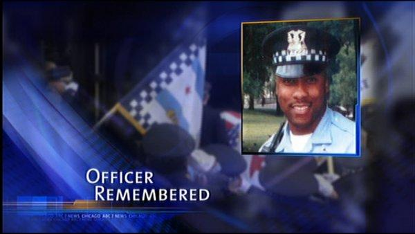 Police bid farewell to slain officer