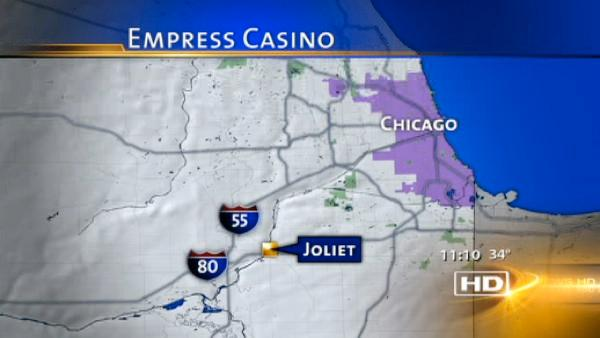Fire reported at Empress Casino in Joliet