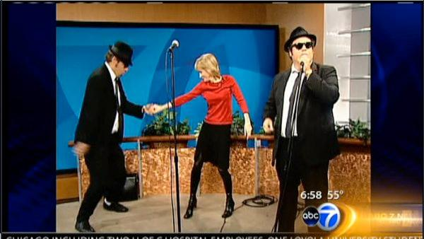 Dancing with the (morning show) Stars | Video | abc7chicago.