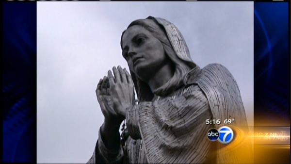 Our Lady statue returns to Holy Name