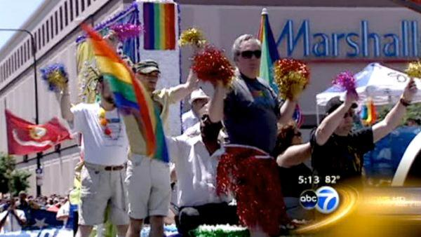 Thousands turn out for Gay Pride Parade