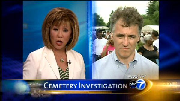 Dart talks about Burr Oak Cemetery situation