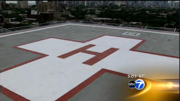 Hospital's plans for helipad stir debate