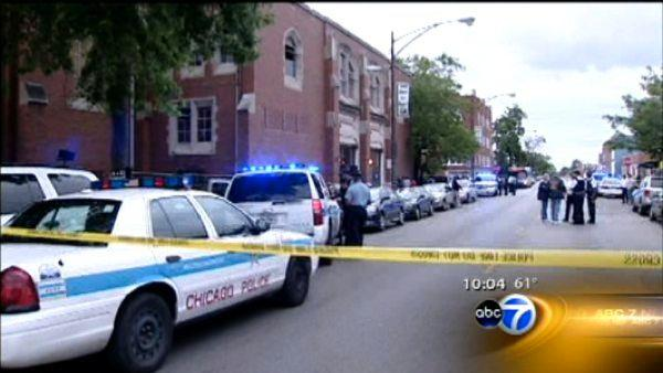 2 teens shot near South Side church