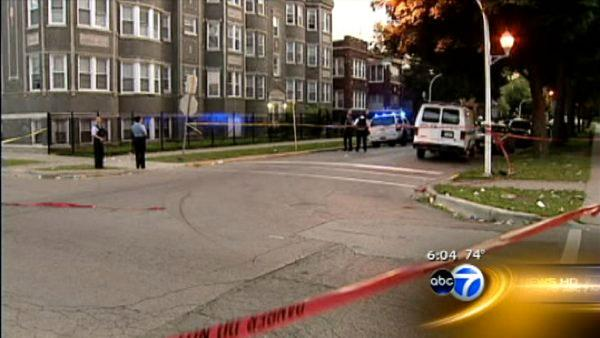 Nine injured in separate shootings
